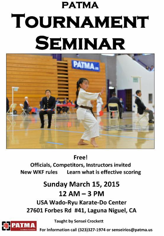 Tournament-seminar